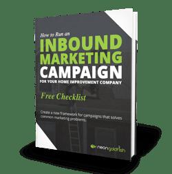 Inbound Marketing Checklist for Home Improvement Companies